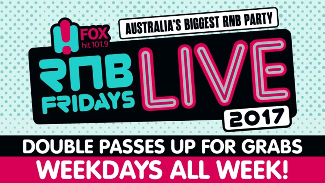 Win your way to RnB Fridays LIVE 2017