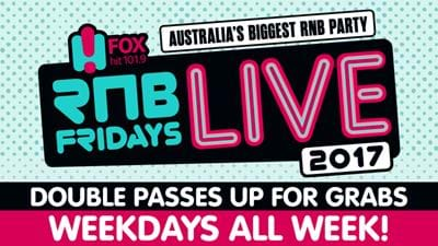 Win Your Way To RnB Fridays Live