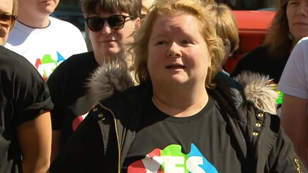 Magda Szubanski Shares Important Message At Melbourne's 'Yes' Launch