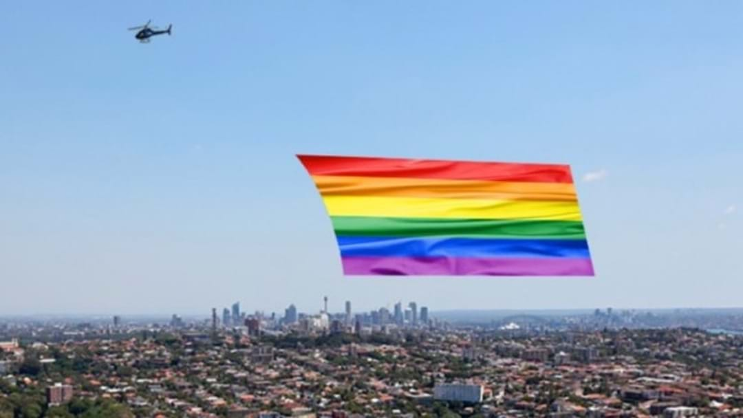'Yes' Campaign Wants To Fly Giant Rainbow Flag Above Sydney