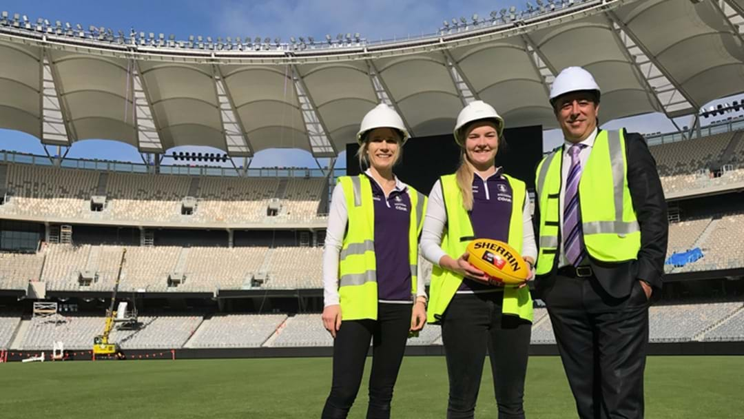 First Footy Match At Perth Stadium To Be An AFLW Game