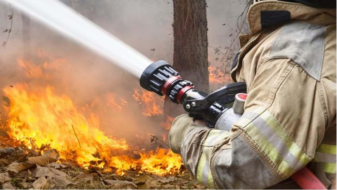 Blaze Destroys Property at Ballogie
