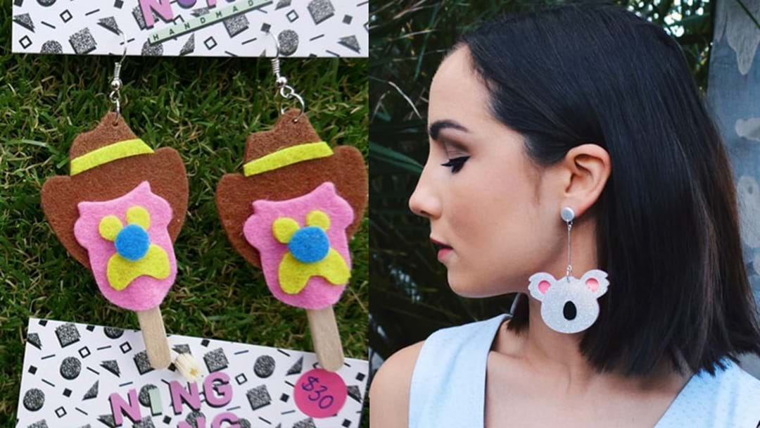 These Aussie Inspired Earrings Will Make You Feel Patriotic AF