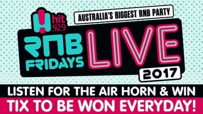 Listen For The Air Horn To Win RnB Fridays Live Tickets