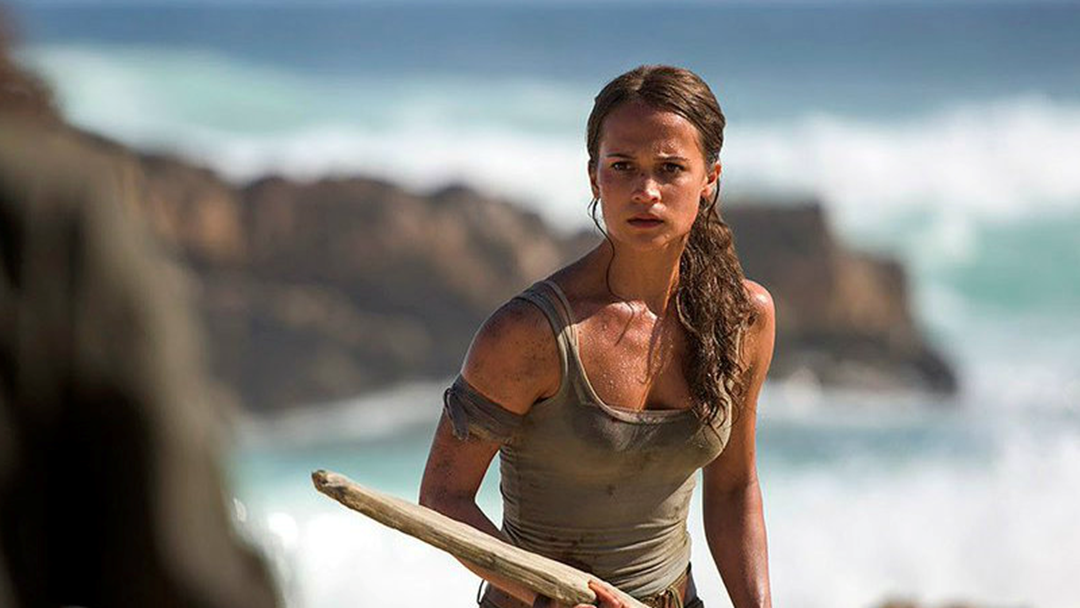 The Photoshop FAIL In The NEW 'Tomb Raider' Poster Has Y'All Mad