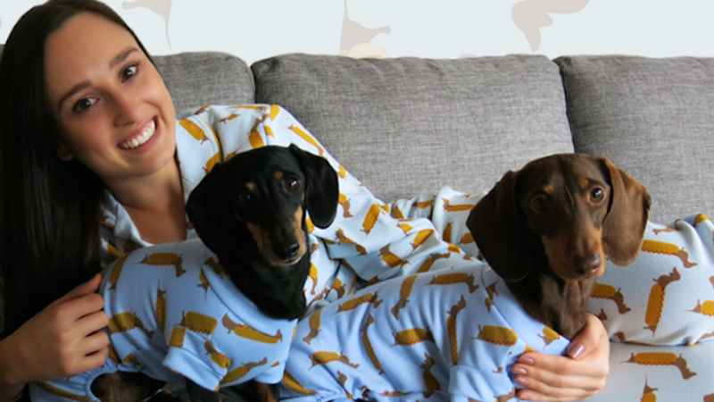 Article heading image for Matching PJs For You & Your DOG Are The Only #CoupleGoals We Need