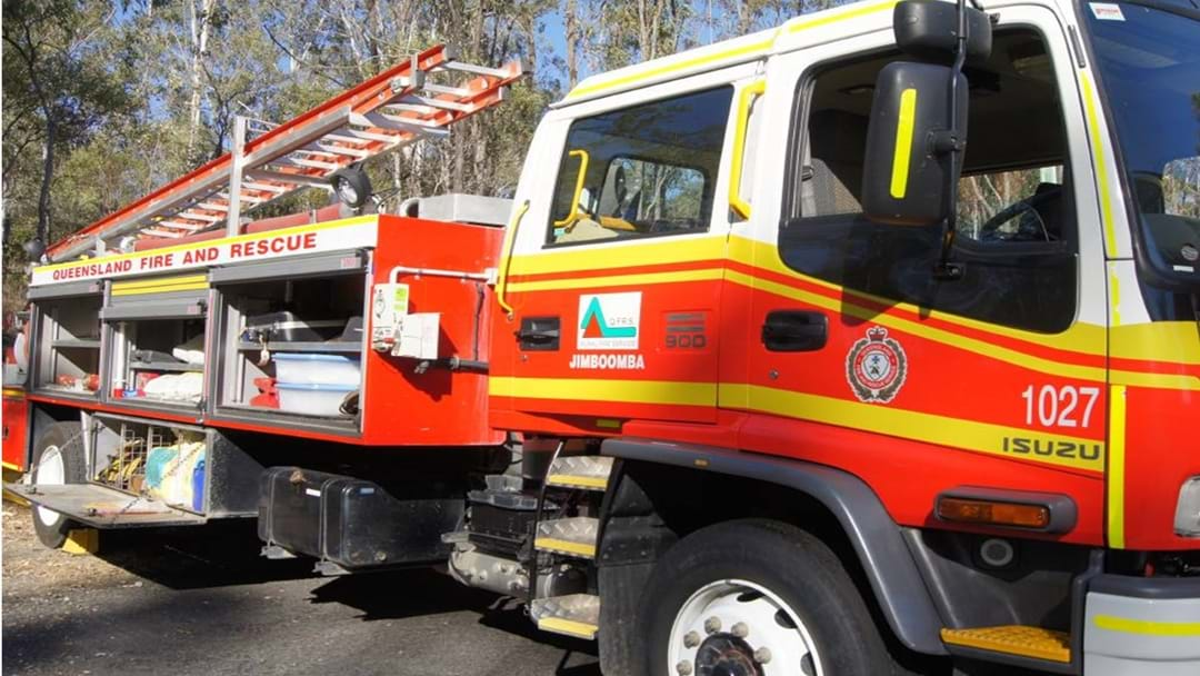 The Cause of Yesterday's Blaze in Dalby: ELETRICAL FAULT