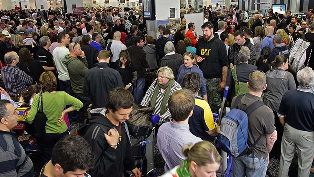 Gold Coast Airport records it's busiest day EVER.