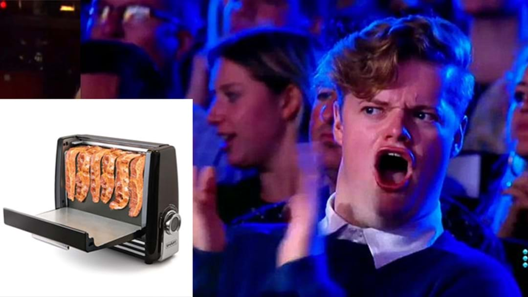 ATTN: Bacon Toasters Now Exist & This Is Another Step For Humankind