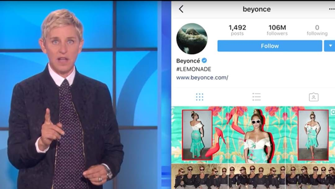 Ellen DeGeneres Is On A Mission To Be Followed By Beyonce On Instagram!