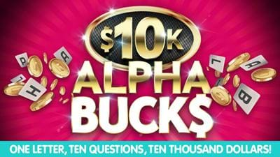Win With Alphabucks!
