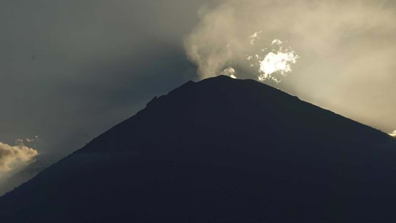 Bali Volcano: More than 1,44000 people evacuated in wake of an eruption