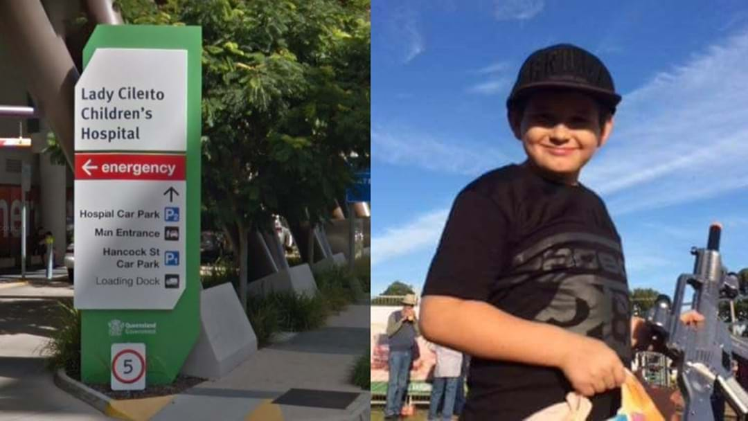 Queensland Boy, 10, 'Fighting' For Life After Devastating Flu Attack
