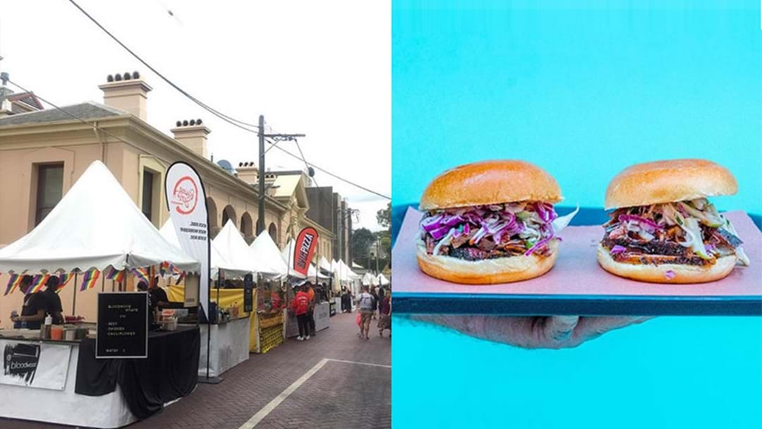 There's An Epic Food Festival Happening In Newtown Right Now!