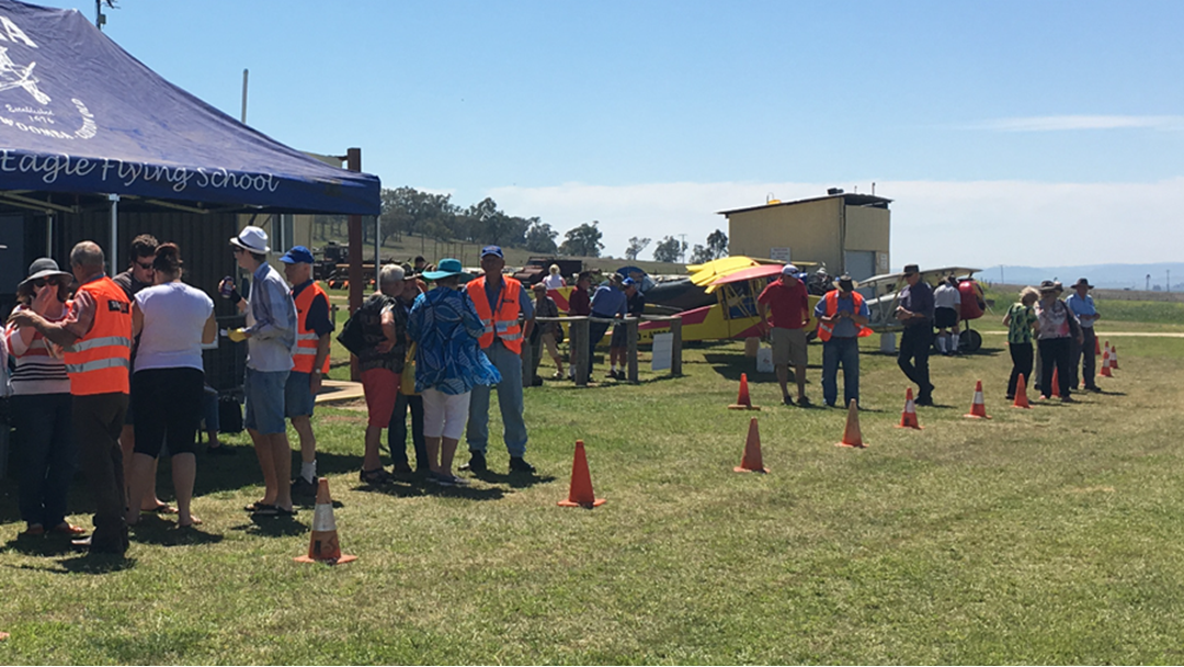 The Lone Eagle Flying School Open Day