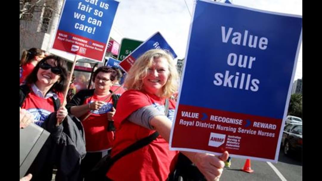 Aged Care Workers Striking For A Fair Go
