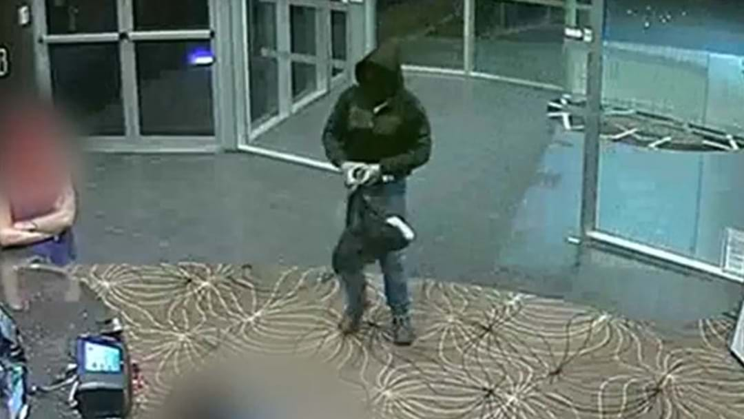 FOOTAGE RELEASED OF STABBING ROBBERY