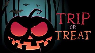 Win a Trip or Treat on us!