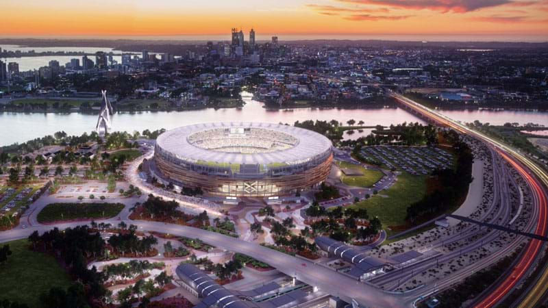 Perth Stadium Has A New Name