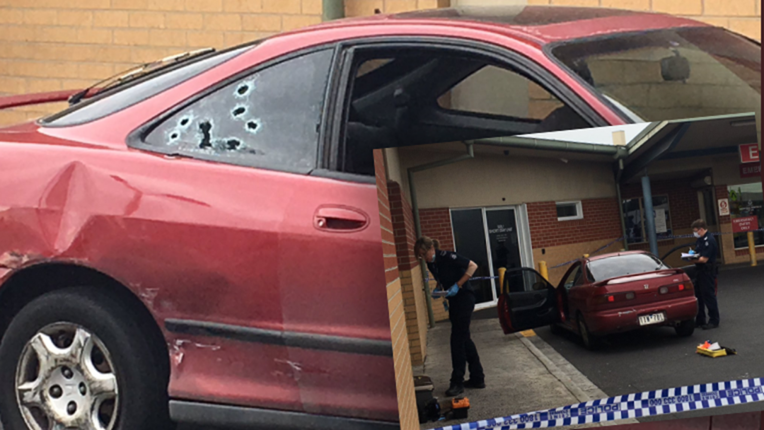 Injured Man Drives Himself To Melbourne Hospital In Bullet-Riddled Car