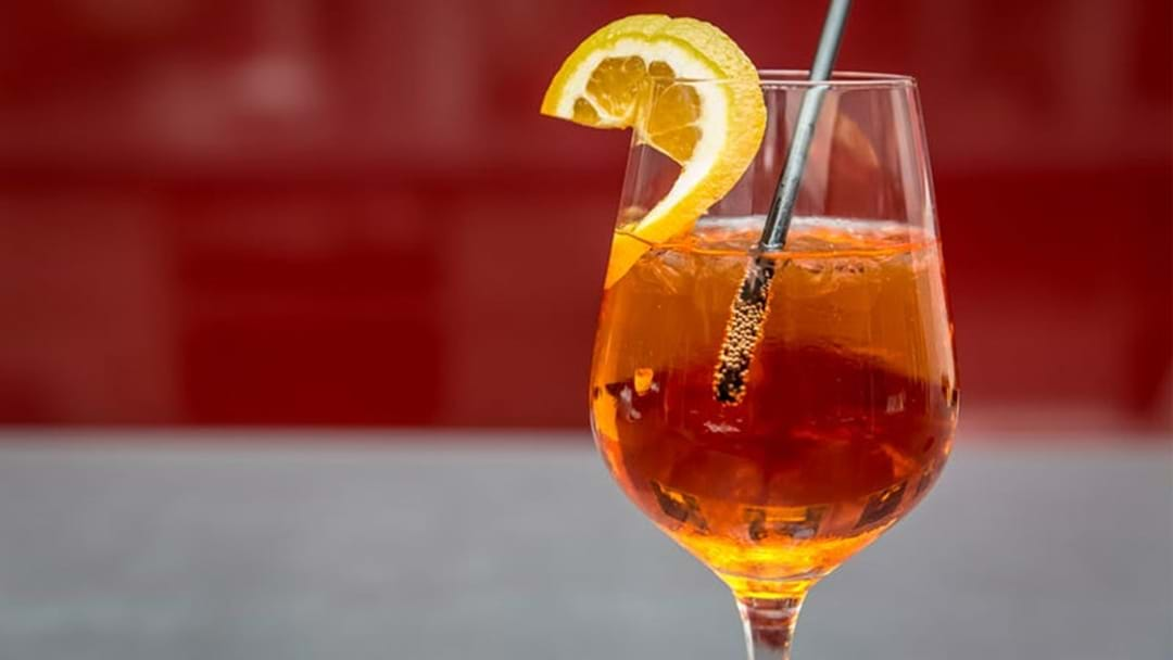 A Pop-Up Aperol Spritz Bar Is Heading To Adelaide!