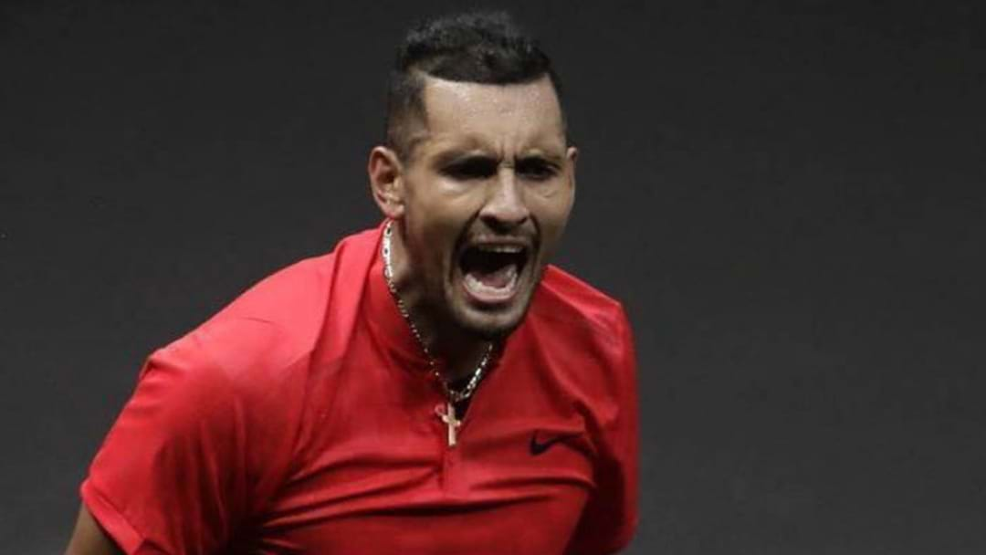 KYRGIOS COPS MASSIVE FINE AFTER DRAMATIC WALK-OFF