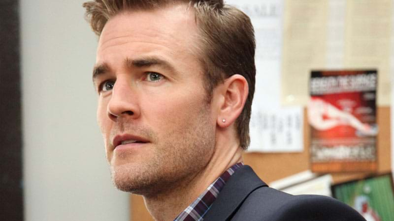 James Van Der Beek says male executive groped him