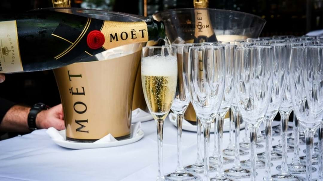 Celebrate World Champagne Day at Moo Moo's this Friday!