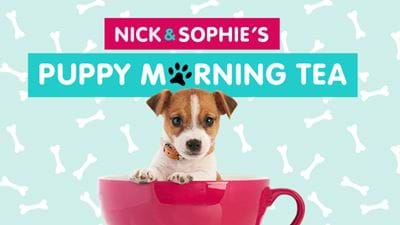 Nick and Sophie's Puppy Morning Tea