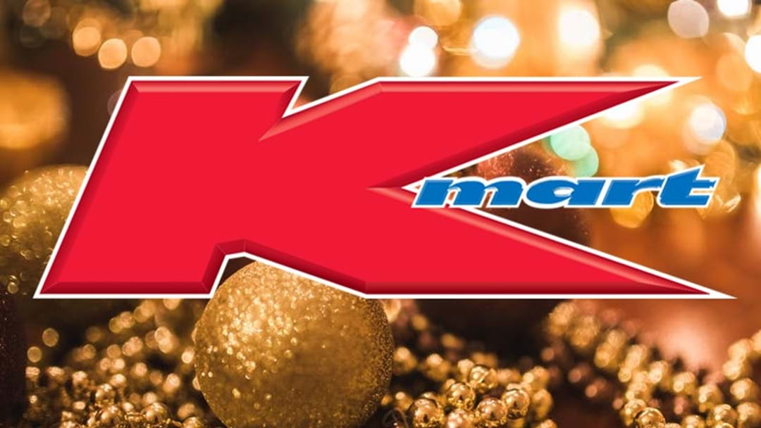 Kmart Just Upped Their Christmas Game AGAIN With This Chic New Bauble!