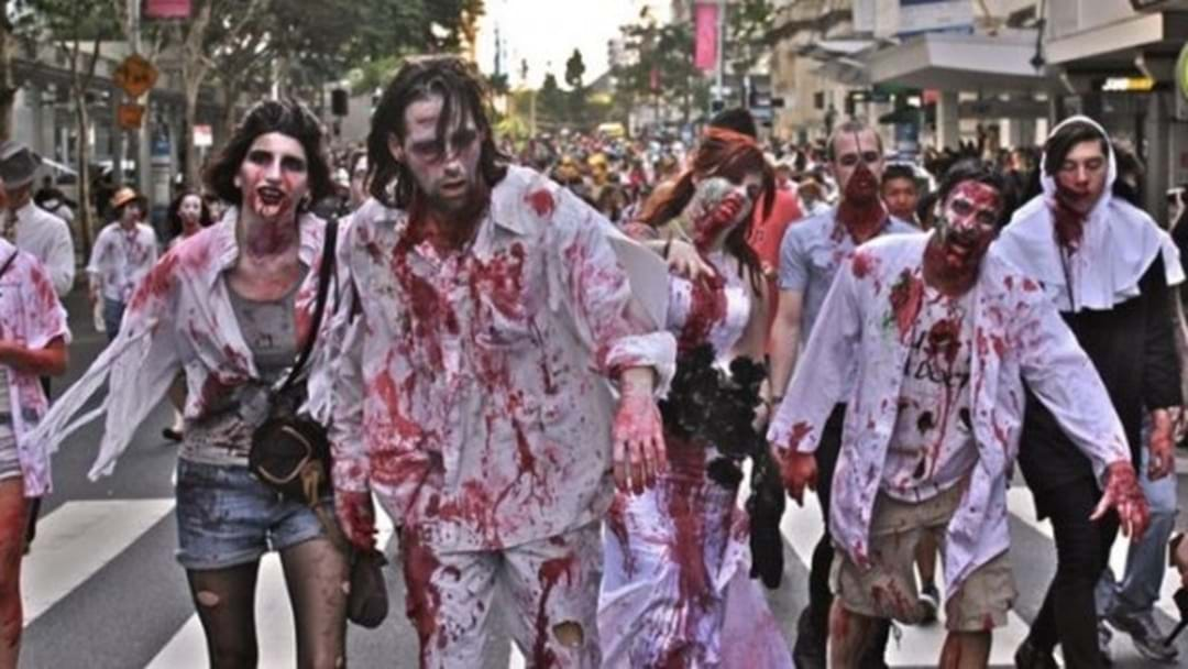 Zombies Will Hit The Strand Tonight, For Real