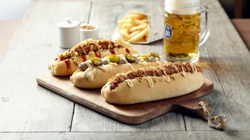 Article heading image for This German Beer House In Melbourne Is Giving Away 500 FREE Hotdogs