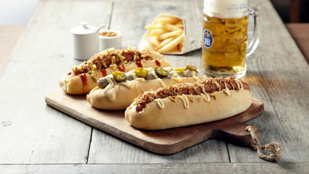 This German Beer House In Melbourne Is Giving Away 500 FREE Hotdogs