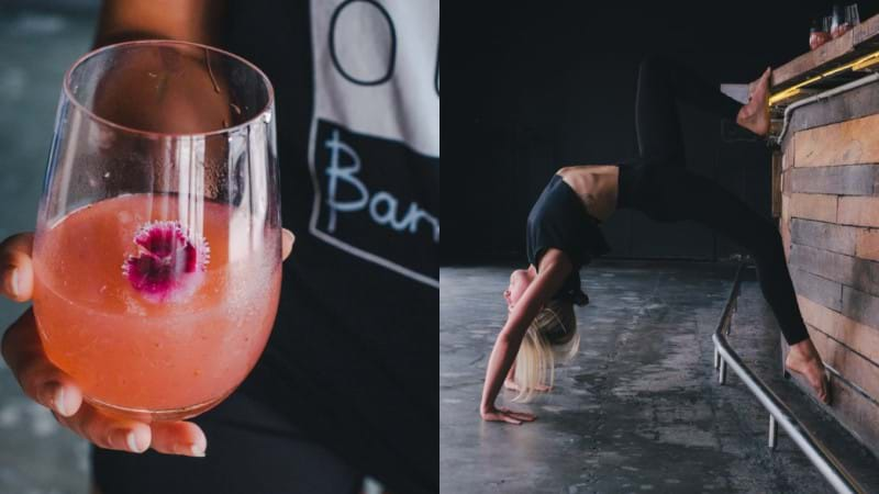 Article heading image for There's A Class Combining Yoga & Drinking Frosé In Brisbane And We're Sold