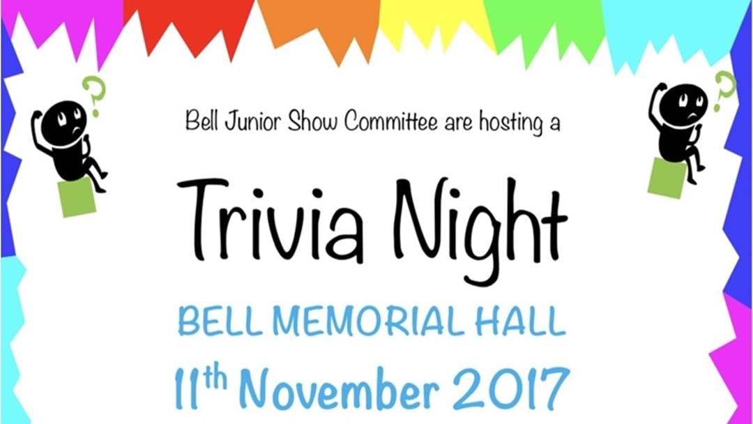 Bell Show Annual Trivia Night
