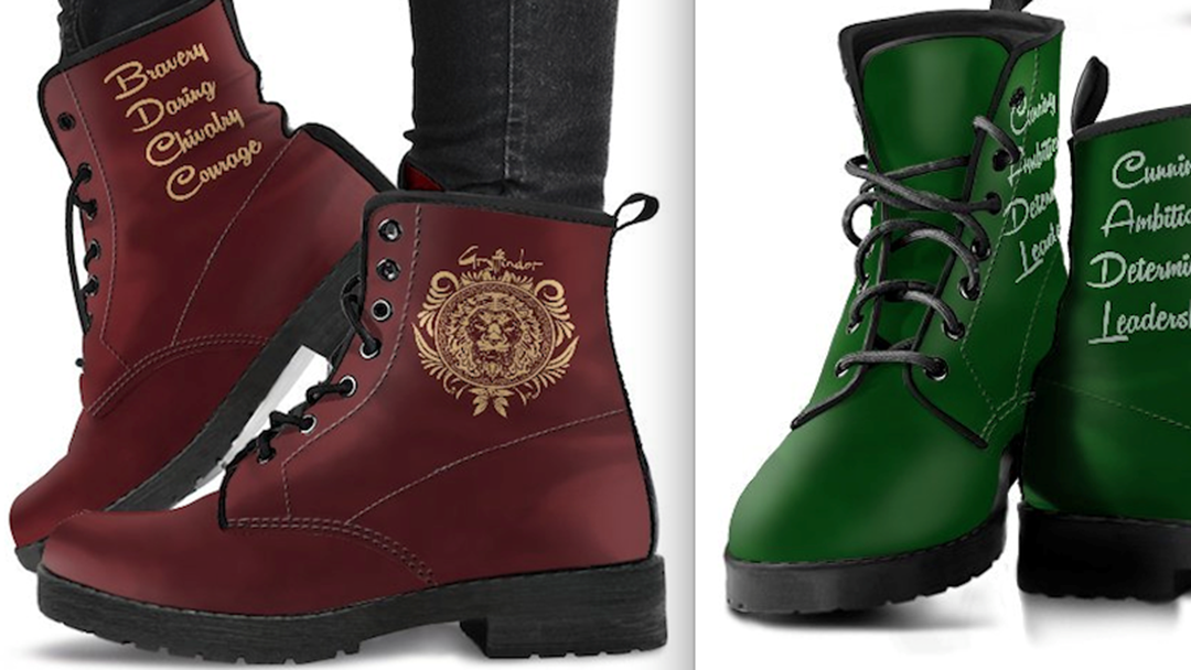 Slytherin To These Harry Potter BOOTS This Christmas
