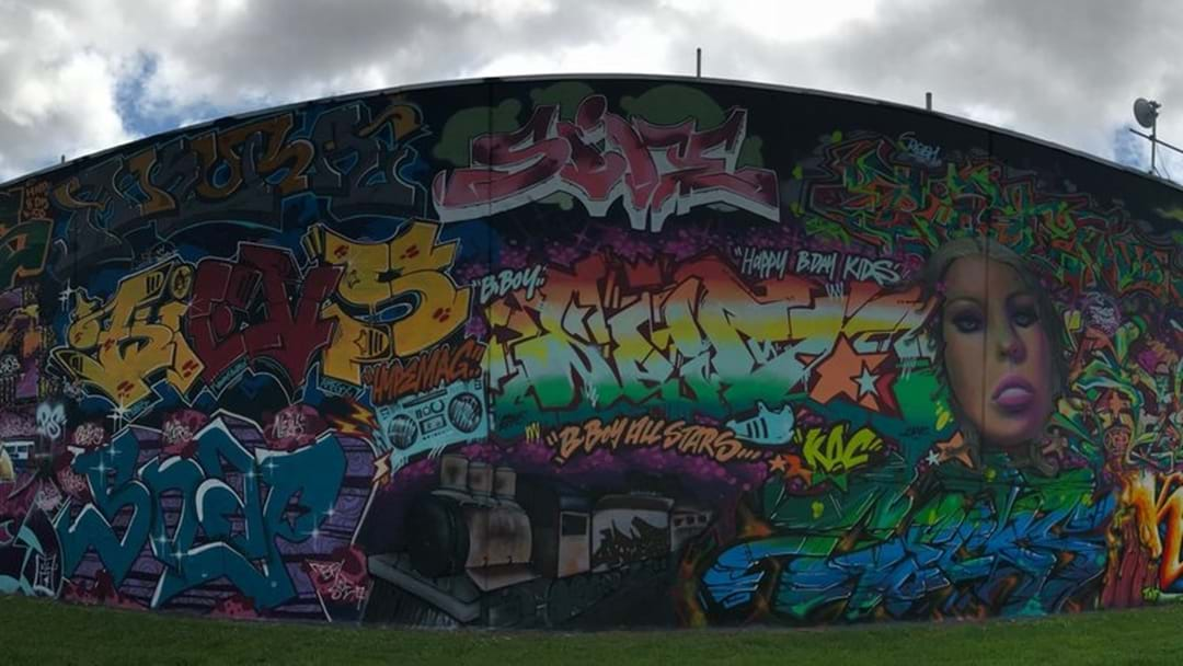 This Townsville Graffiti Will Make You Say 'Wow'