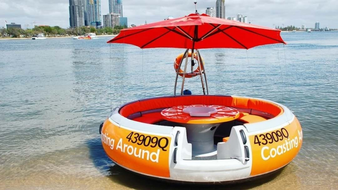 Renting a round boat is going to be your favourite thing to do on the GC this summer!