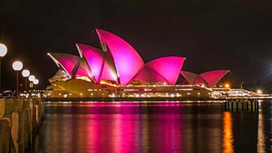 The Sydney Opera House Will Be Lighting Up Pink This Friday Night