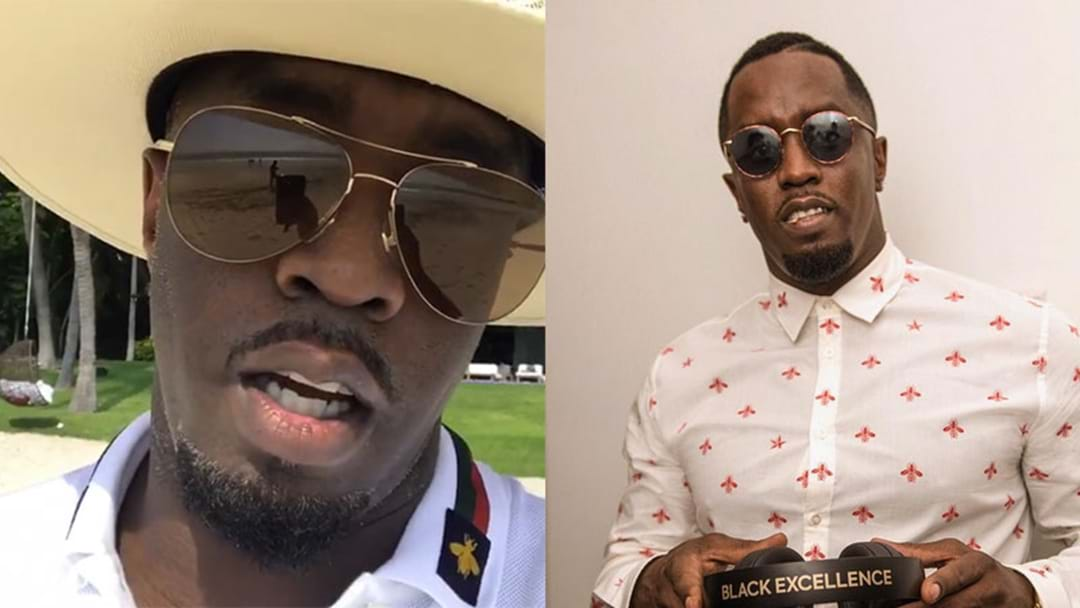 P. Diddy Has Changed His Name For The FIFTH Time… Probs Will Still Call Him Diddy