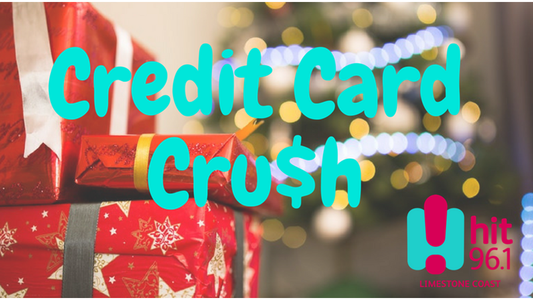 Hit 96.1 paying off your Credit Card this Xmas!