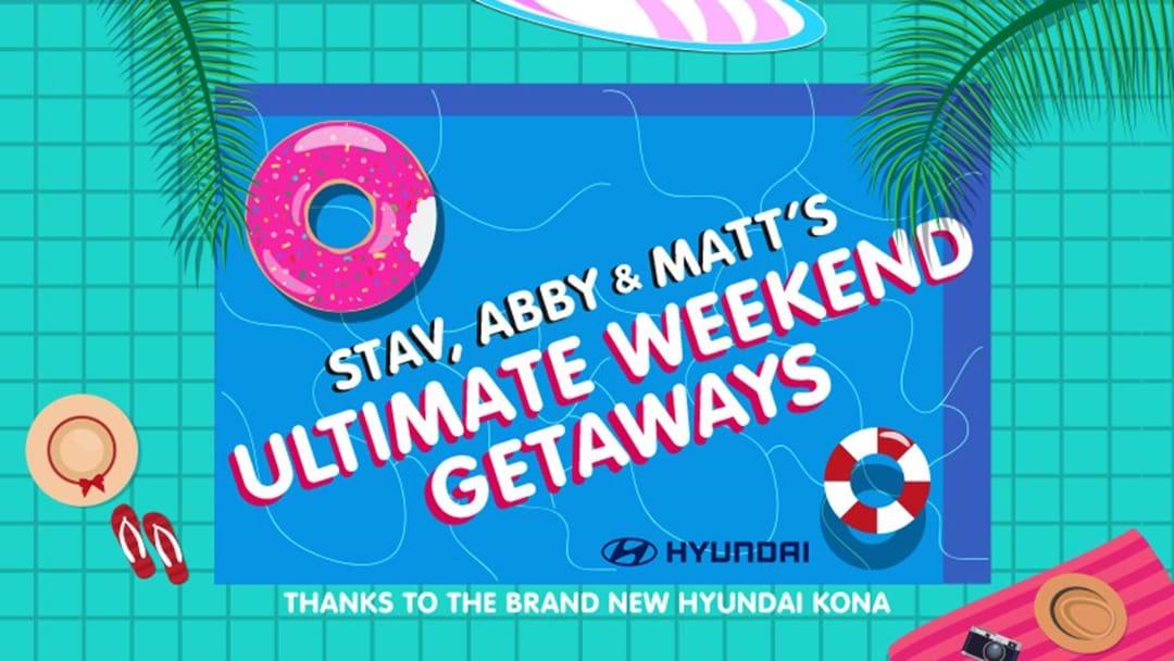 Win the ultimate weekend getaways thanks to the brand new Hyundai Kona!