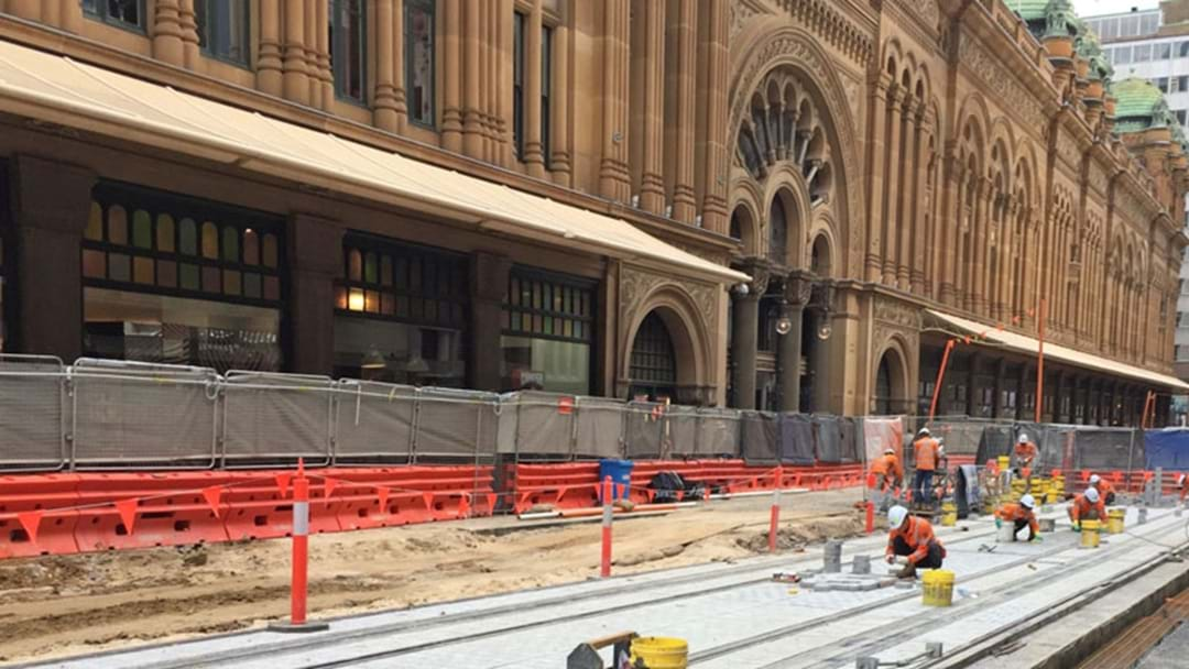 Here's A Look At Sydney's New Light Rail Line