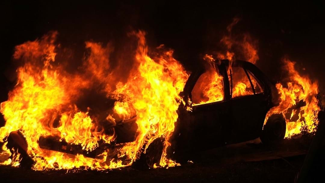 Teens charged over Springbrook car inferno