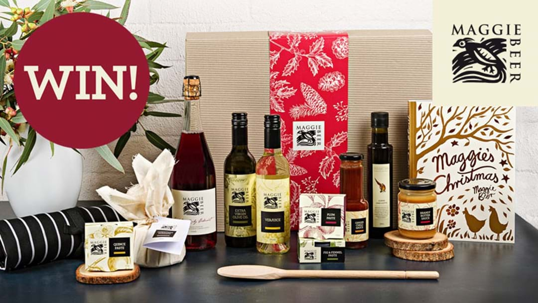 Share the magic of Christmas with Maggie Beer