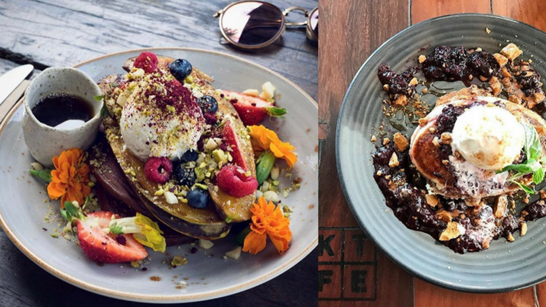 Check out the Gold Coast pancakes making us drool at breakfast