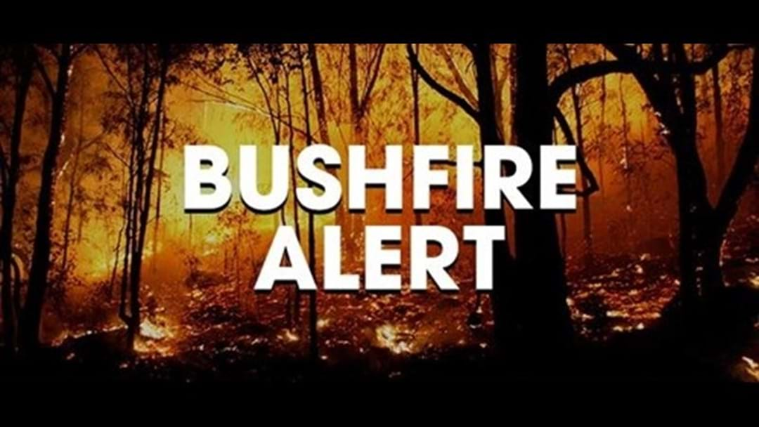 BUSHFIRE ADVICE: 18kms north-west of Westdale in the Shire of Beverley