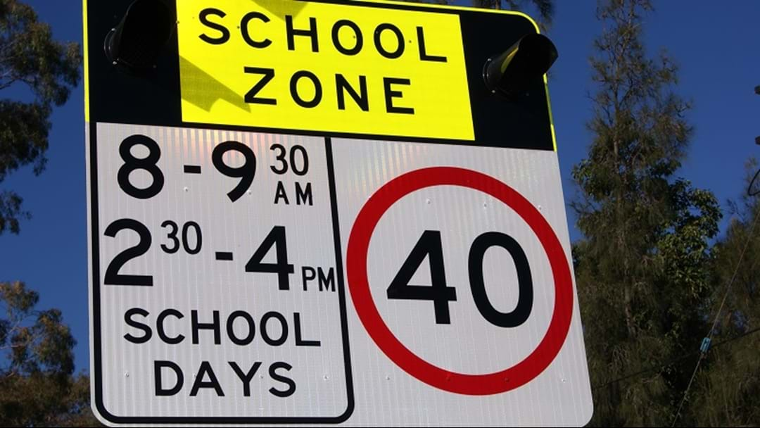Back to school for kids on the Gold Coast today - watch your speed in school zones!