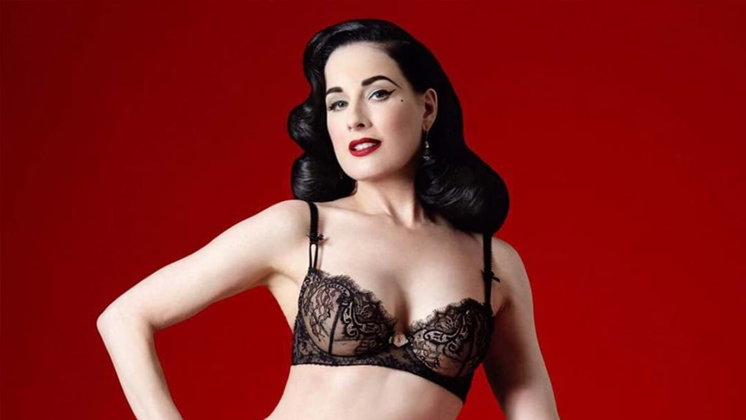 Dita Von Teese Has A Message For The Aussie LGBT Community Ahead Of Tomorrow's Announcement
