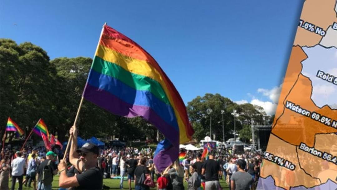 How The People Of Sydney Voted In The Same-Sex Marriage Survey